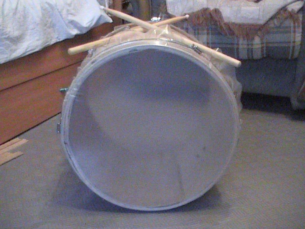 Сделать барабан своими руками видео